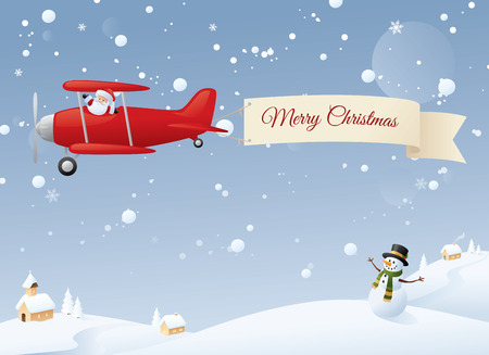 Christmas Wishes to one and all. Change to your message. Vector
