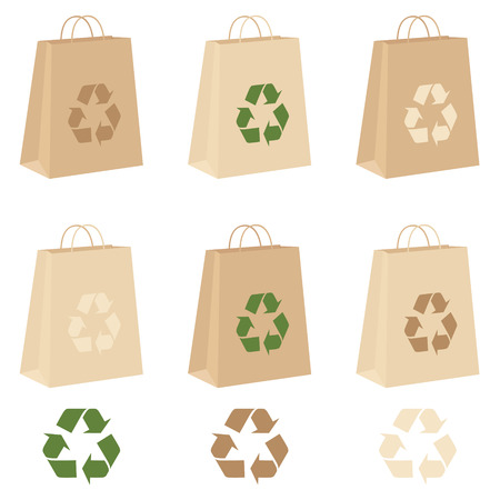carrier bag: Individually grouped environmentally friendly carrier bags.