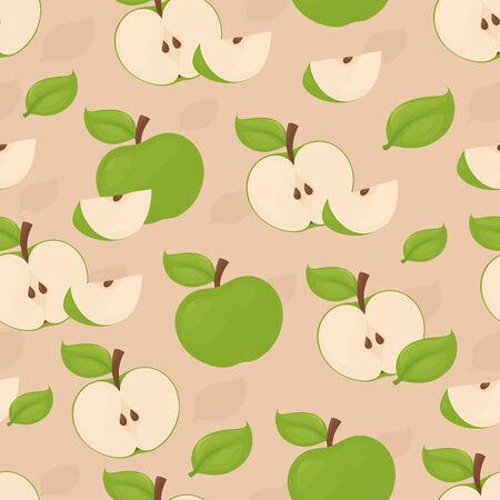 apple core: Seamless apple background.