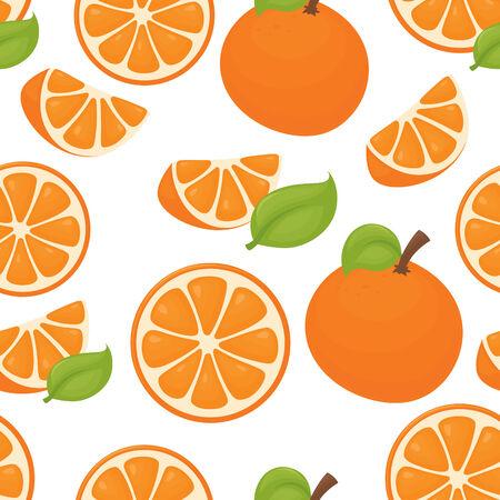 orange pattern: Seamless Orange Pattern