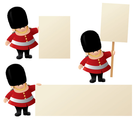 bearskin: Queens Guard holds your messages.
