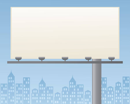 billboard blank: Blank billboard for your ad.