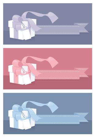 vouchers: Templates for gift vouchers in pastel colors.