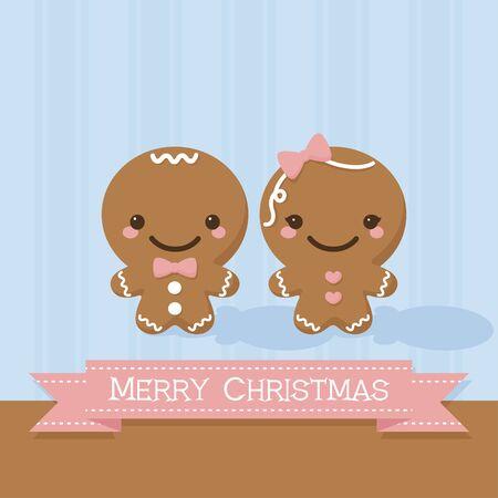 gingerbread man: Gingerbread man and gingerbread lady.