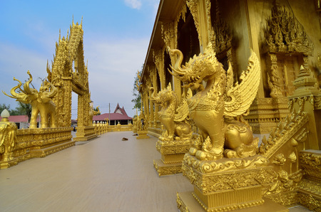 gardian: A fine unicorn sculptures in Thai temple with best livery
