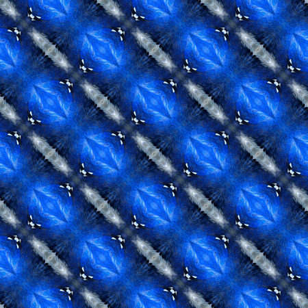 bird feathers: Beautiful blue texture made from blue bird feathers in a great pattern Stock Photo