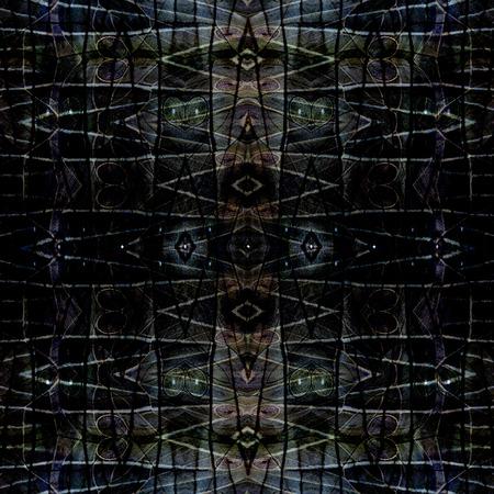 コ ヌール蝶翼パターンから作られた美しい暗いシームレスな灰色の背景テクスチャ 写真素材
