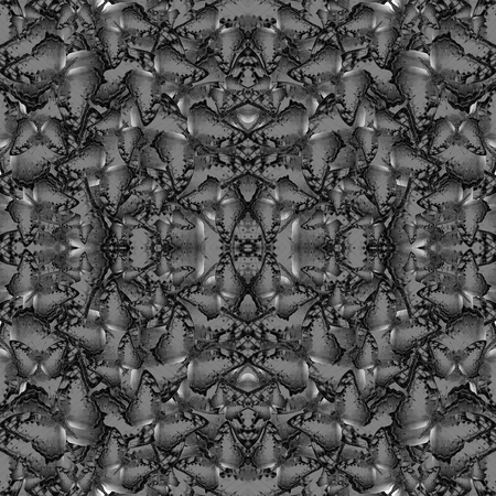 grey background texture: Seamless Flying Vagrant Butterflies in grey background texture