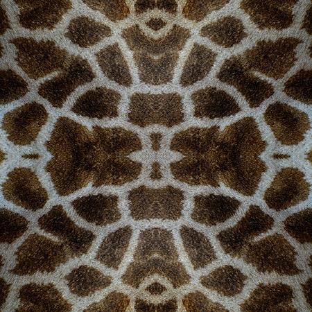 camouflage skin: Seamless camouflage background made of Giraff skin texture