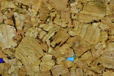 Seamless brown cork wooden texture, beautiful background Stock Photo