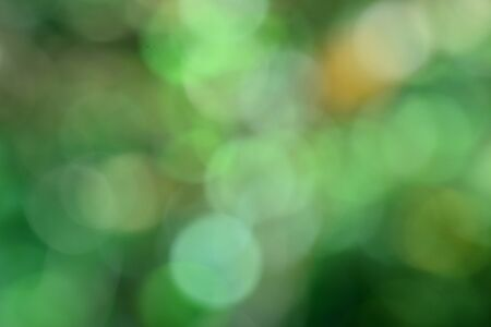 Bright and brink bokeh background of mix green and yellow in grace pattern