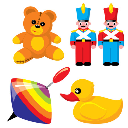 set children toys Stock Vector - 7325833