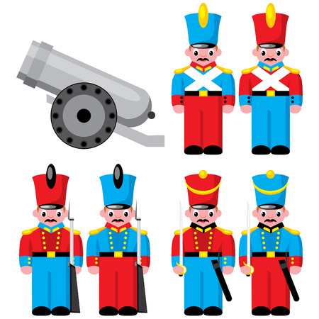 toy soldier: set children toys