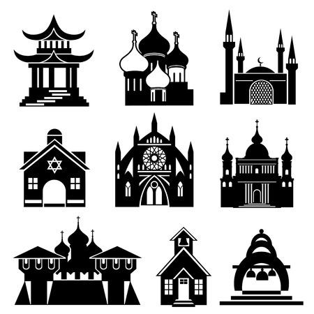 pagoda: edificios religiosos y estructuras