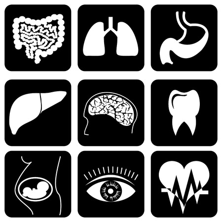 internal: set of  icons to medical theme