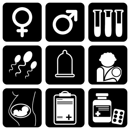 set of  icons to medical theme Stock Vector - 8173243