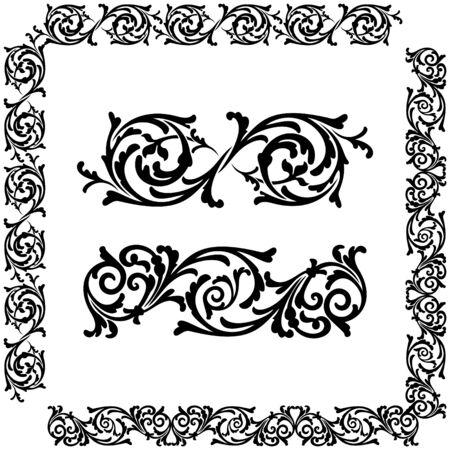 florid: Classical decorative elements for you design