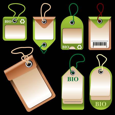 simbol: insieme di immagini vettoriali di etichette e cartellini dei prezzi