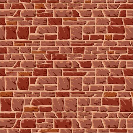materiali edili: sfondo senza soluzione di continuit� con un muro di pietra  Vettoriali