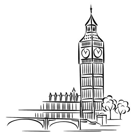 immagini del Big Ben a Londra Archivio Fotografico - 9613876