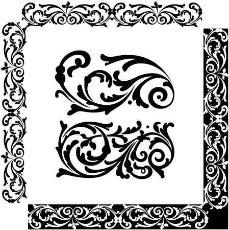 florid: Classical decorative elements for ornament  Illustration