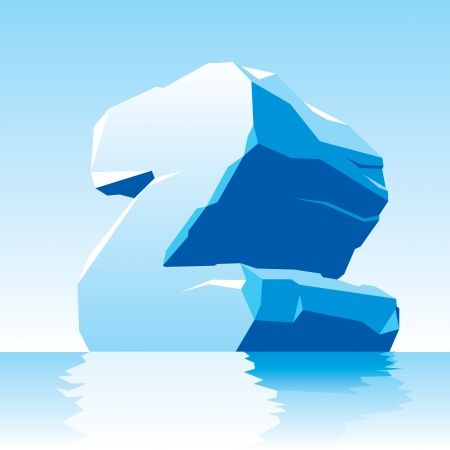 vector image of ice letter Z Stock Vector - 16589692