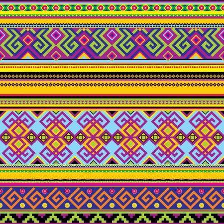 folk culture: de fondo sin fisuras con un patr�n mexicano Vectores