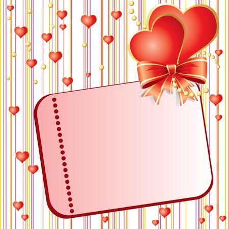 st valentins day: modello vettoriale per St. Valentines Day card