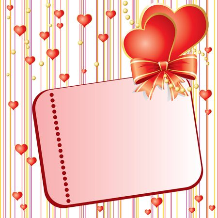 st valentin's day: vector pattern for St. Valentins Day card