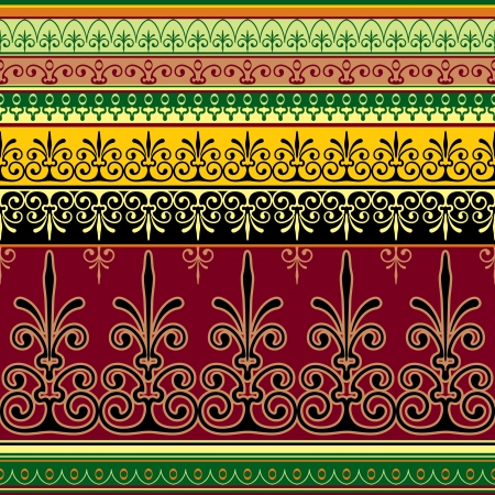 moresque: seamless background with Mauritian ornament pattern
