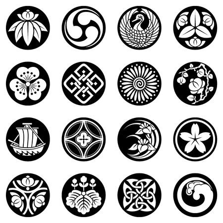 flor de sakura: elementos de diseño del Sudeste Asiático