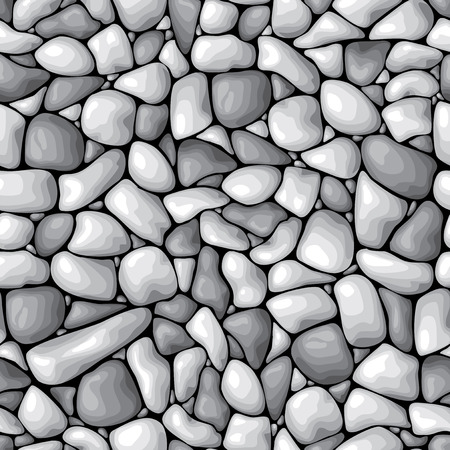pebble: vector seamless background with a pebble Illustration
