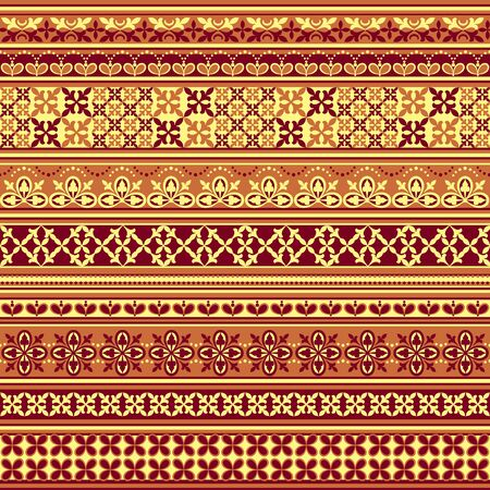 textile seamless floral pattern in shades of brown