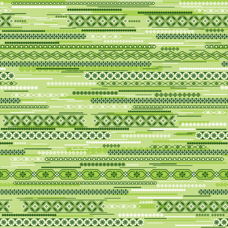 vector seamless background with chaos green pattern