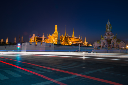 potent: The Wat Phra Kaew is regarded as the most sacred Buddhist temple (wat) in Thailand. It is a \\\\\\\potent religio-political symbol and the palladium (protective image) of Thai society\\\\\\\.It is located in Phra Nakhon District, the his