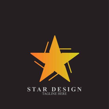 Premium star logo design. Abstract icon star vector template Logo