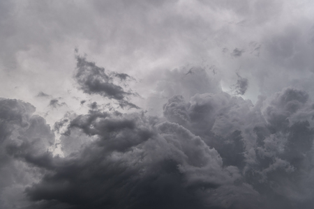 Image of dark storm clouds before a thunder-storm, background image
