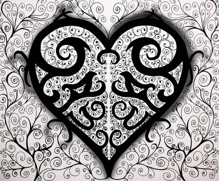 symetry: Beautiful Heart Design