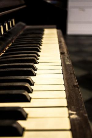Vintage Piano Stock fotó