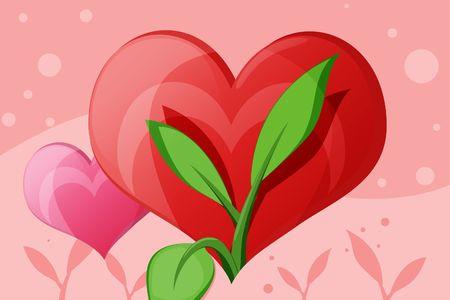 naturalist: Flourishing Love Illustration