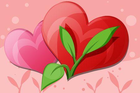 naturalist: Love Blossom Illustration