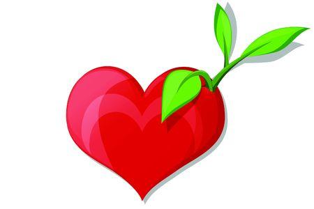 the first love: Siembra de las semillas de amor Vectores