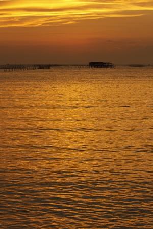 sunrises: Sunsets and sunrises in Thailand Stock Photo