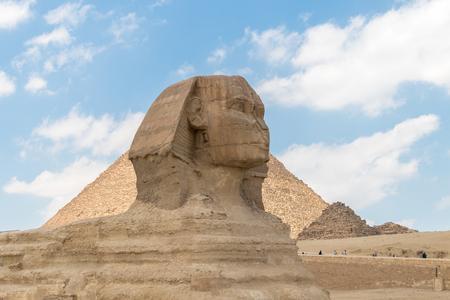 Famosa esfinge egipcia en Giza