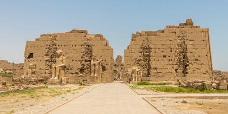Seventh Pylon of the Amun Temple, Karnak, Luxor, Egypt Banque d'images - 123219190
