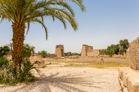 Temple Karnak in the ancient city of Thebes, modern-day Luxor, Egypt