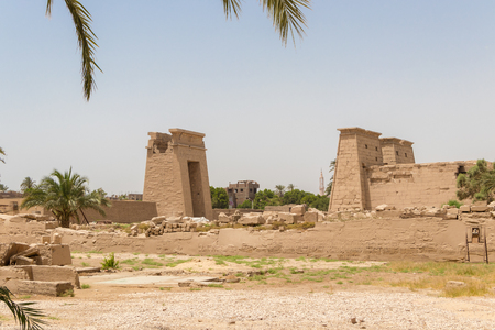 Temple Karnak in the ancient city of Thebes, Luxor, Egypt Banque d'images - 123219193