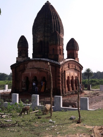 Garhpanchakot temple at West Bengal