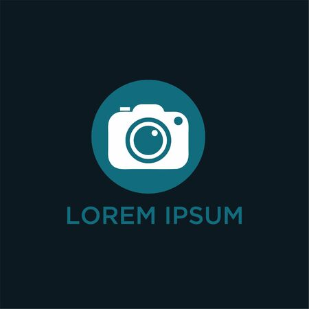 Camera icon in a simple modern style.