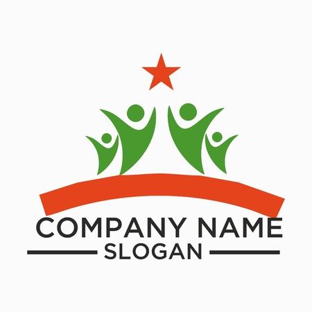 Leaf plant logo symbol icon set of vector designs